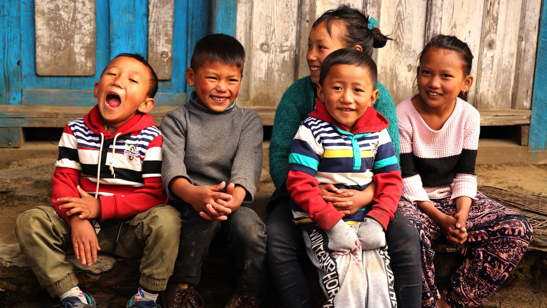 If every child was  as strong as Everest,  what could our Nepal be?